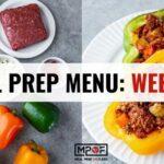 Meal Prep Menu: Week 28