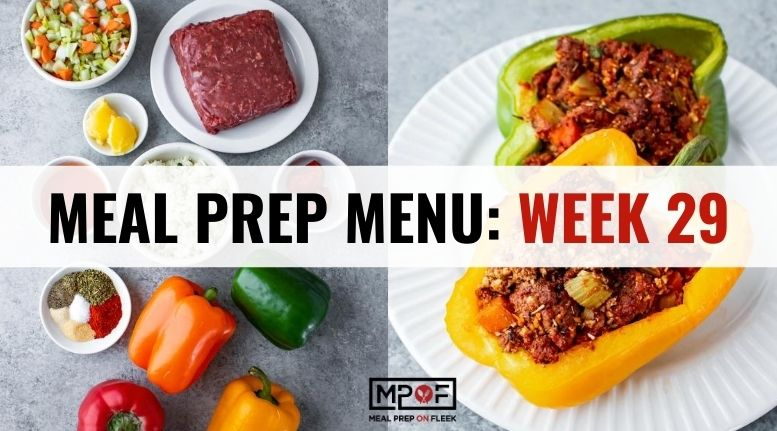 Meal Prep Menu_ Week 29