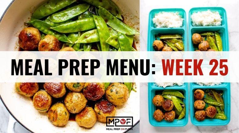 Meal Prep Menu_ Week 25
