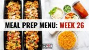 Meal Prep Menu_ Week 26