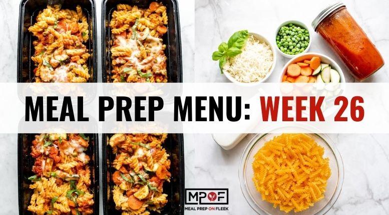 Meal Prep Menu_ Week 26