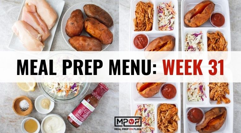 Meal Prep Menu_ Week 31