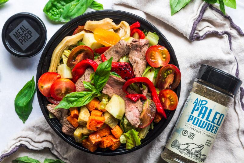 Italian Steak Salad