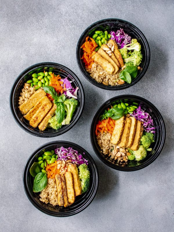 Thai Crunch Quinoa Grain Bowl Bowl