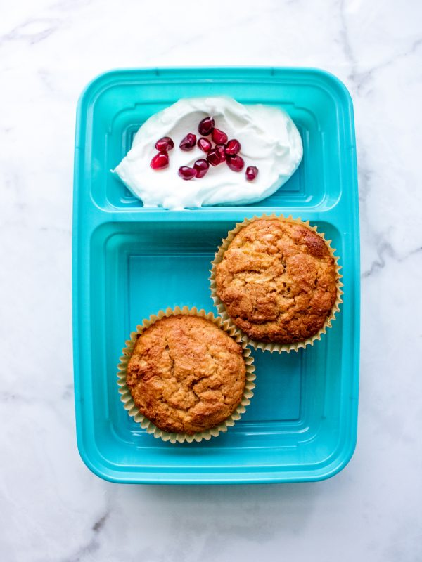 Low Carb Cinnamon Apple Muffins