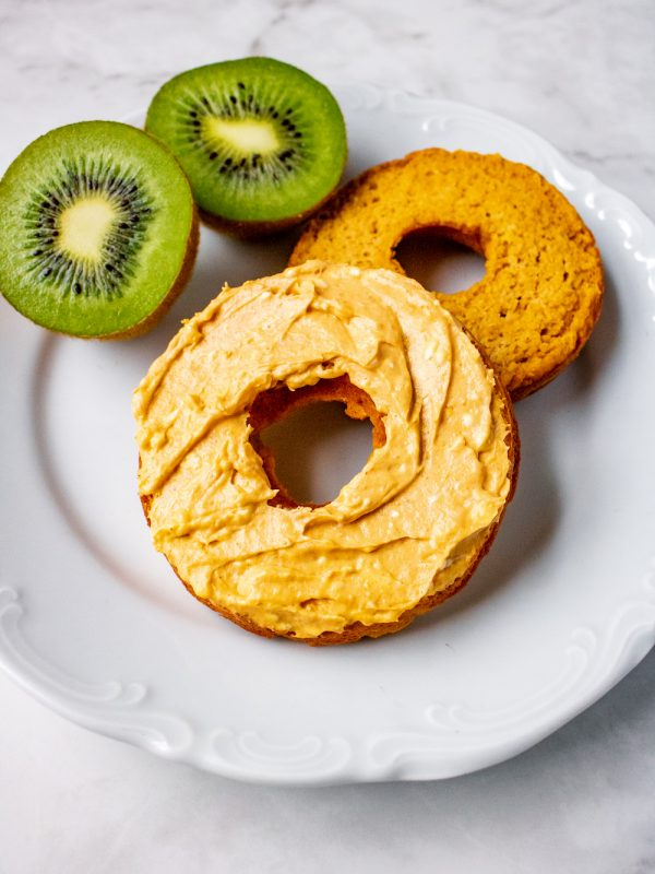 Low Carb Pumpkin Spice Bagel