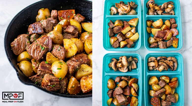 Easy Steak and Potato Bites