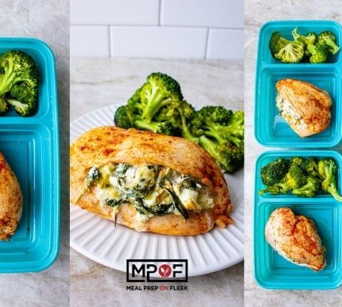 Watercress and Artichoke Stuffed Chicken Breasts
