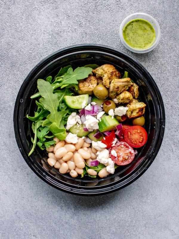 Greek Arugula Power Salad