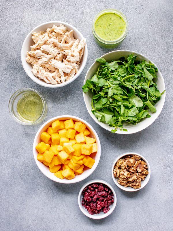 Fall Harvest Power Salad