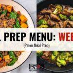 Meal Prep Menu: Week 40