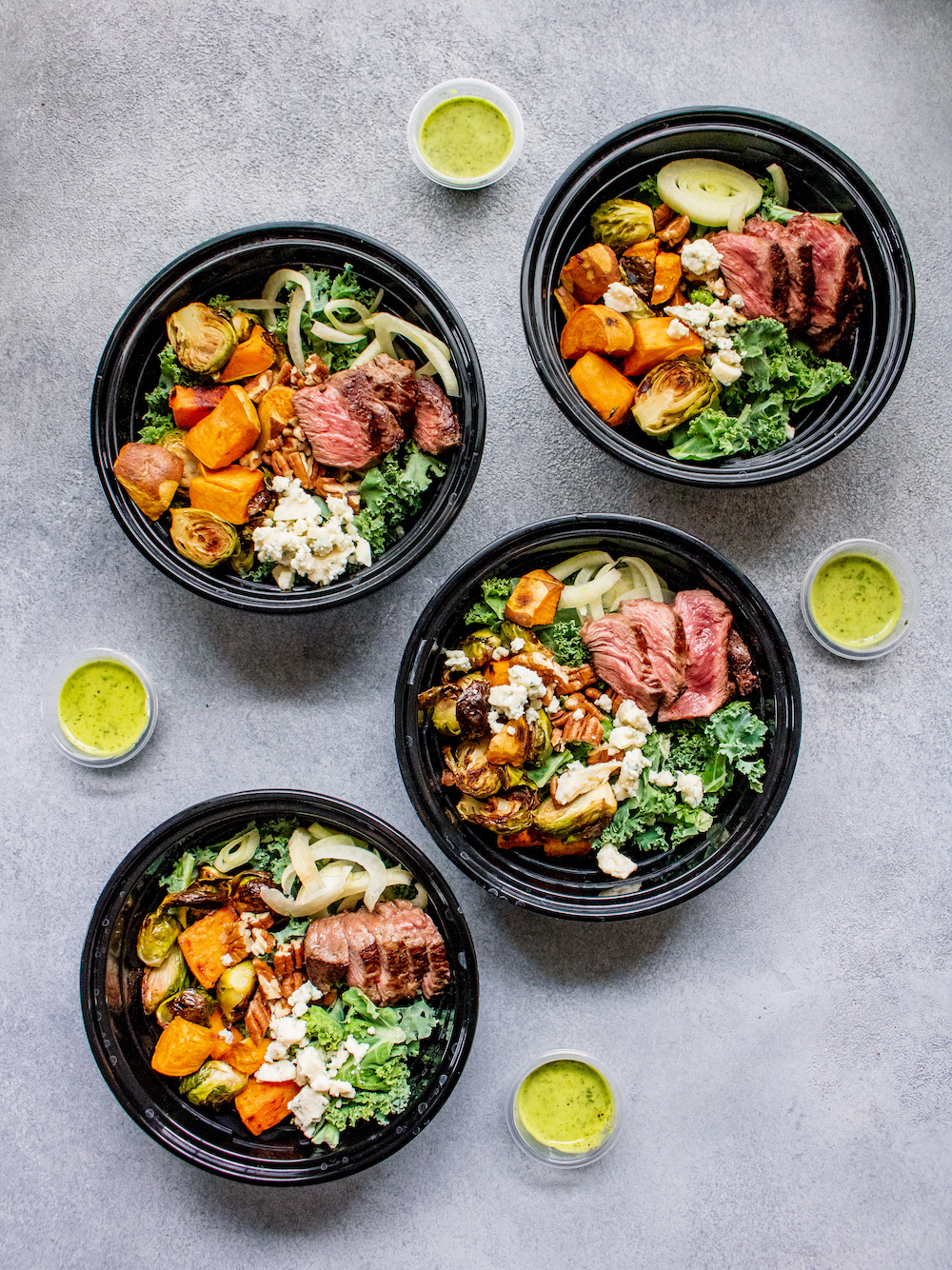 Kale Steak Power Salad