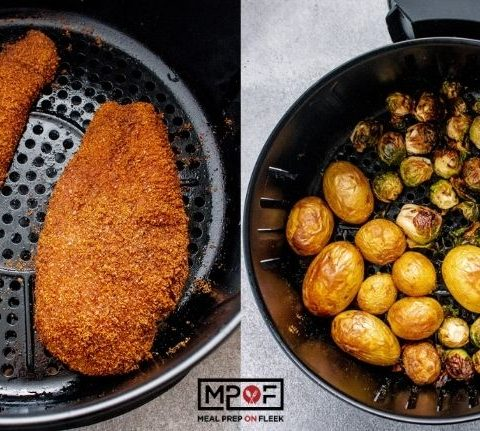 Air Fried Crispy Chicken