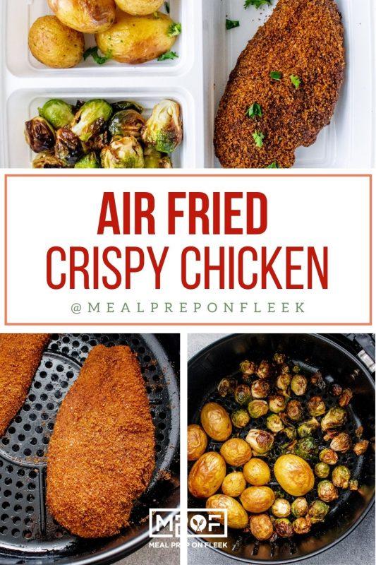 Air Fried Crispy Chicken