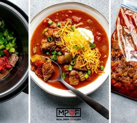 Freeze-Friendly Instant Pot Steakhouse Chili