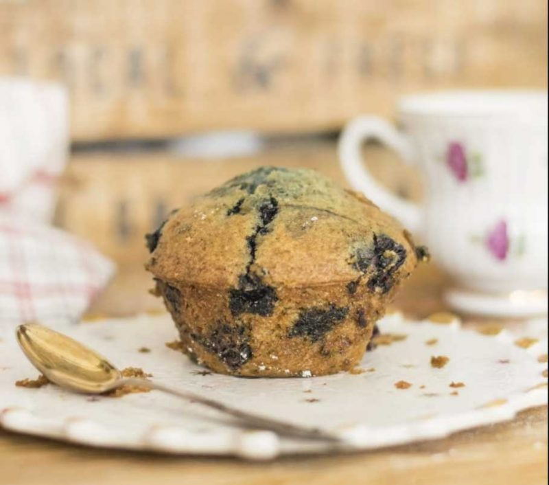 Easy-Low-Histamine-Blender-Blueberry-Muffins