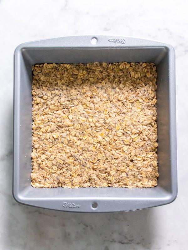 Lemon Poppy Seed Oatmeal Bars