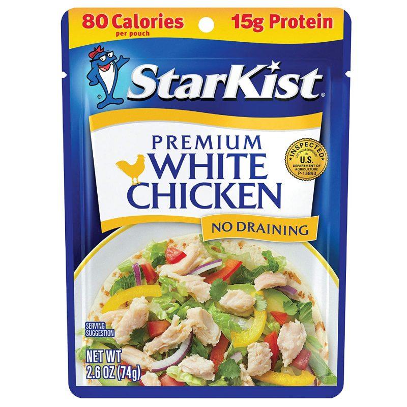 precooked white chicken