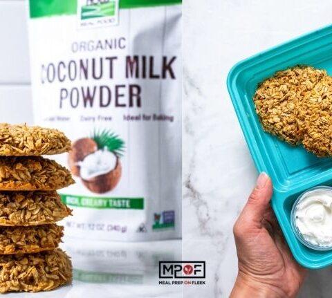 Coconut Oat Breakfast Cookies